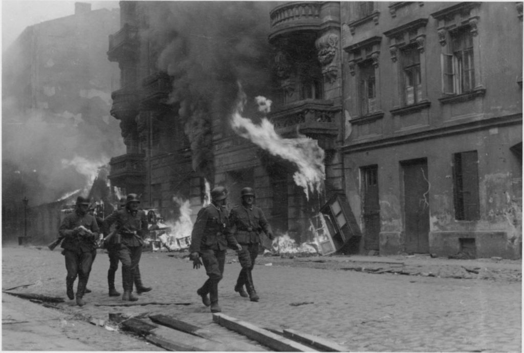 Warsaw Ghetto Uprising Begins