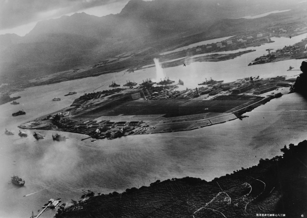 Japan Attacks Pearl Harbor, Hawaii