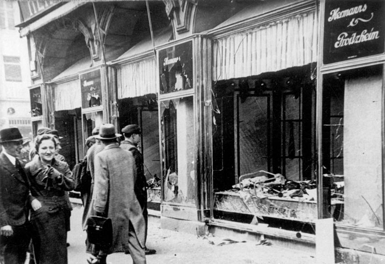 Kristallnacht (Night of Broken Glass)