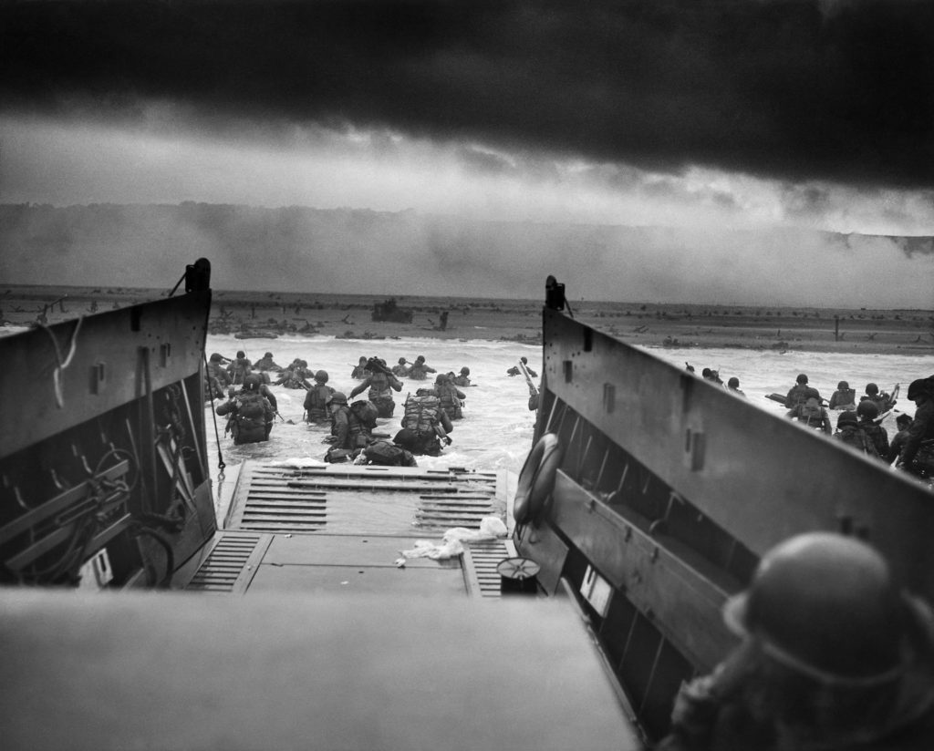 D-Day: Allied Forces Invade Normandy, France